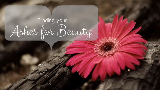Trading your Ashes for Beauty
